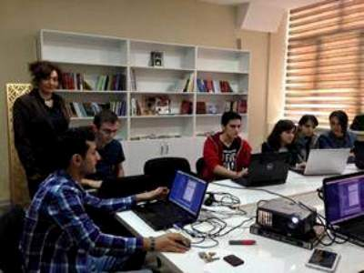 7Training for students at Baku State University on Tele -radio Journalizm - копия Greenpen.az